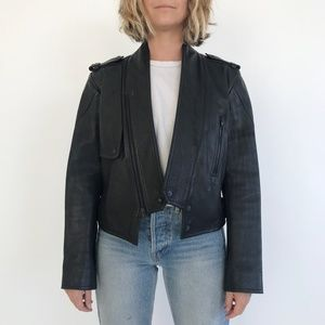 WANG LEATHER JACKET